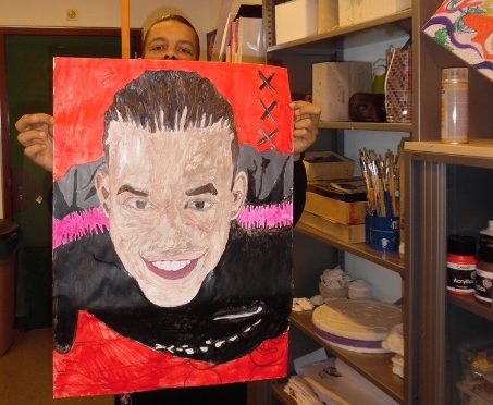 cooking and art classes in the juvenile prison of Lelystad